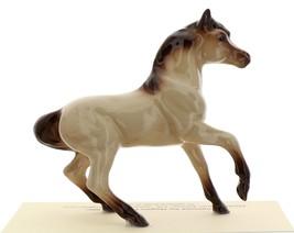 Hagen-Renaker Miniature Ceramic Horse Figurine Buckskin Mare with Leg Up