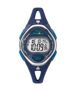 Timex IRONMAN® Sleek 50 Mid-Size Silicone Watch - Navy - $74.21