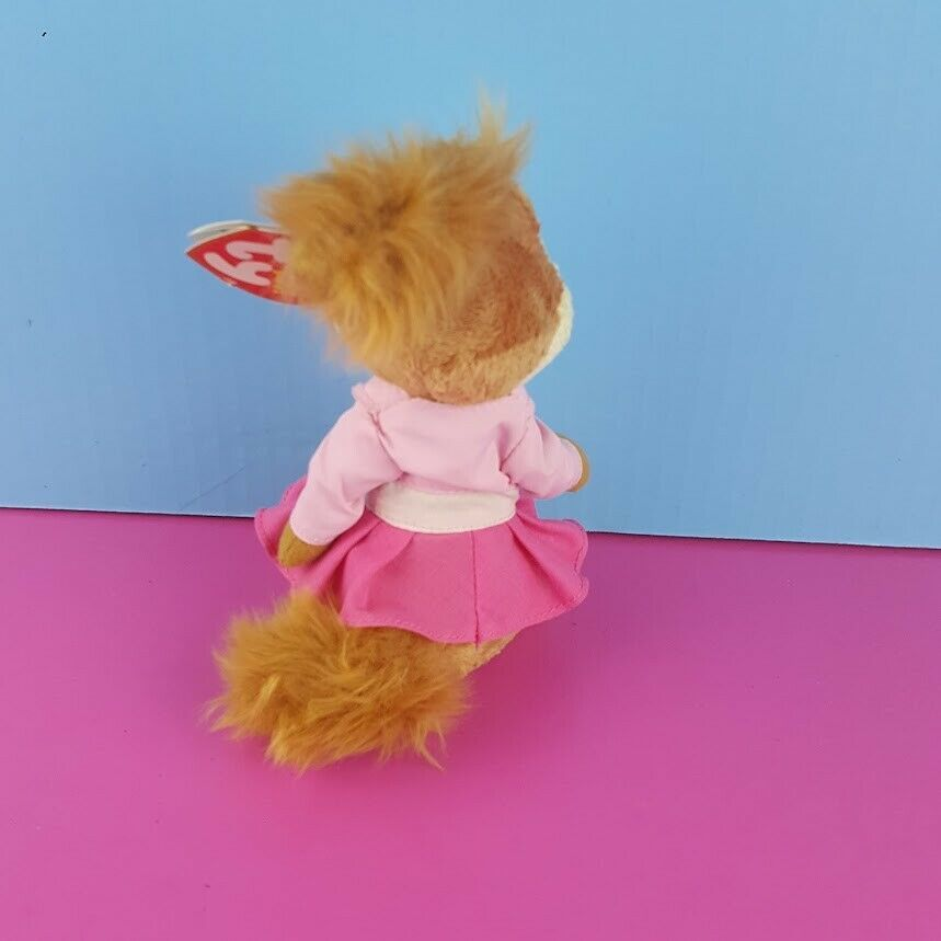 Ty Beanie Brittany Plush Alvin & Chipmunks The Squeakquel 2012 Pink Outfit image 2