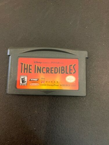 Incredibles (Nintendo Game Boy Advance, 2004)CARTRIDGE ONLY