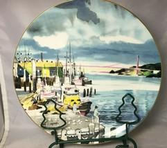 "Fisherman's Wharf San Fran  Royal Doulton 10-1/4"" Collector Plate Dong Kingman  - $17.59"
