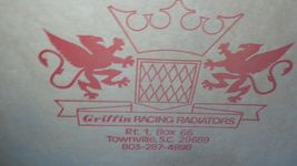 Griffin Racing Radiators 1667313 Engine Radiator New image 3