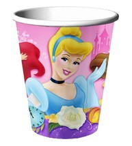Disney Princess Dreams 9 oz Paper Cups 8 Per Package Birthday Party Supp... - $2.48