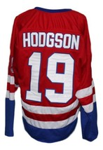 Any Name Number Buffalo Bisons Retro Hockey Jersey Red Any Size image 5