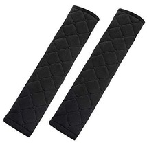 TRIXES Seatbelt Strap Cover - 2 Car Seat Belt Comfort Pads with Hook and... - $5.44