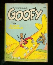 WALT DISNEY'S GOOFY IN GIANT TROUBLE-BIG LITTLE BOOK-68 VG - $25.22