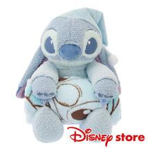 Disney Store Japan Blanket & Plush Doll Set Stitch & Scramp Relax Time - $78.21