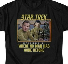 Star Trek Episode 2 Where No Man Has Gone Before graphic t-shirt CBS502 image 2