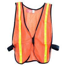Hilason Western Horse Tack Night Riding Safety Vest Orange U-3004 - $18.79