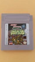 Teenage Mutant Ninja Turtles: Fall of the Foot Clan (Nintendo Game Boy, ... - $7.91