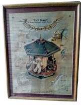 McB Bears Poster Signed 190 Barbara McConnell Proudly Presents Teddy Bea... - $233.74