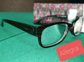 Strong +3.50 Sight Station Foster Grant Womans Allegra Reading Glasses + Cases - $12.24