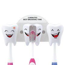 Cute Smile Teeth Style Toothbrush Holder Cartoon Stand - $16.88