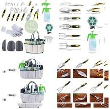 Sonyabecca 12pcs Garden Tools Set Gardening Gift Kit Ergonomic Gardening... - $45.79