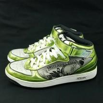 Reebok Men's RB705 KTS Philadelphia Green White Sneakers Basketball High... - $37.04