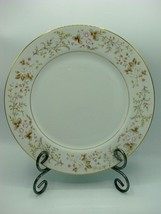 "EUC RARE MIKASA ROSE CREST 10 1/2"" Fine China Dinner PLATE L9027 - $12.19"