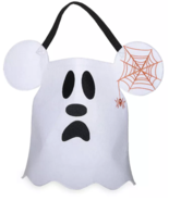 Disney Parks Halloween Mickey Mouse Ghost Trick or Treat Bag New with Tag - $21.55