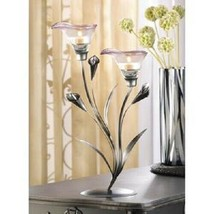 Calla Lily Candle Holder Home Decor, Lighting - $28.70