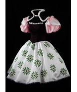 Haunted Mansion Ballerina Costume Sally Slater Dress Tight Rope Walker C... - $118.00