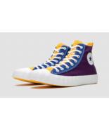 Converse Mens Not A Chuck Hi Canvas 167242C Night Purple/Deep Emerald Si... - £42.90 GBP