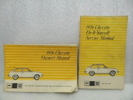 1976 CHEVETTE  Owners Manual Set 16048 - $18.76