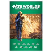 Fate Worlds Volume 1 Worlds on Fire Roleplaying Game RPG Strategy EHP0003 - $21.99