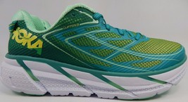 Hoka One One Clifton 3 Women's Running Shoes Size US 9.5 M (B) EU 42 Green