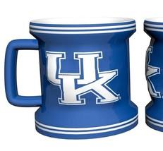 KENTUCKY WILDCATS Shot Glass NCAA Teams Sculpted Ceramic 2 Oz Mug - $8.89