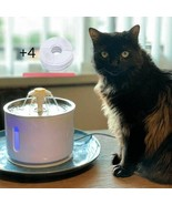 Wonder Creature 2.4 Ultra Quiet with LED light Cat Water Fountain  - White - $48.51