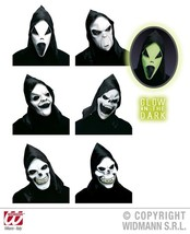 Adult's Hooded Ghost Mask #acf - $17.09