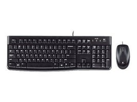 Logitech MK120 Wired USB Keyboard & Mouse 920-002565 - $29.98