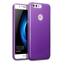 Flexible Drop Protection Precision Duragel TPU Case Purple Huawei Honor 8 - $12.96