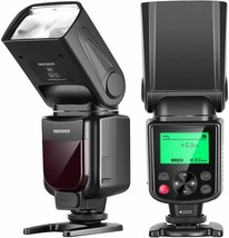 NEEWER NW635 TTL On camera flash GN58 Speedlite With LCD (See Description) - $49.49