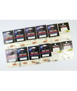 Mixed Lot of 12 Various Packages of Eagle Claw Lazer Sharp Fishing Hooks - £17.41 GBP