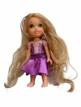 "Disney Jakks Pacific 6"" Petite mini Doll princess Rapunzel Tangled - $14.84"