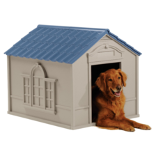 XXL DOG KENNEL FOR X-LARGE DOGS OUTDOOR PET CABIN HOUSE BIG SHELTER - $103.00