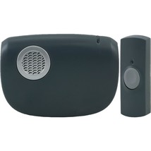 GE(R) 19240 Portable Door Chime with Doorbell Button - $34.50