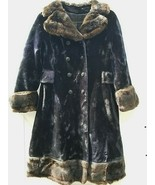 Vintage Ladies Double Breasted Mixed Fur Coat by Sportowne ft. Borgazia ... - $85.40