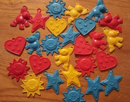 Lot of 25 Pieces Plastic Balloon Weights Primary Colors Mylar Balloon We... - $9.45
