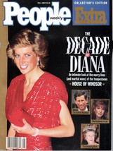 People Magazine Fall 1990 The Decade of Diana - $4.99