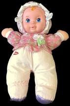 VTG 1999 PLAYSKOOL DOLL PLUSH NYLON SOFT MY FIRST BABY GIRL SQUEAKER - $28.80