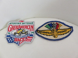 "Great American and Indianapolis Speedway Patches 2.5"" Wide - $15.34"