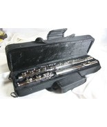 NEW GLORY CLOSED HOLE C FLUTE NICKEL SILVER GFL-130, W/ CASE AND EXTRAS - $68.31