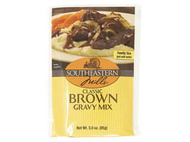Southeastern Mills Classic Brown Gravy Mix, 3 oz. Packets - $20.74+