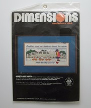Dimensions Heart and Hands Counted Cross Stitch Kit #3569 Mother Childre... - $14.46