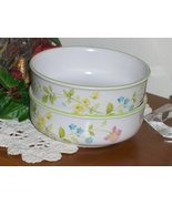 Noritake Progression China 9080 Clear Day Fruit Bowl 1 USED Floral Cerea... - $17.99