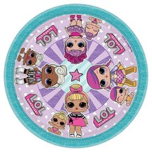 LOL Surprise Dessert Plates L.O.L. Birthday Party Supplies 8 Per Package Amscan - $5.10