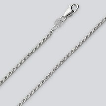 Rope Chain Necklace - 24 inch* (1.5mm* wide) - Sterling Silver - Made Italy - $14.92