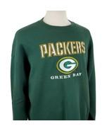 Vintage Lee Sport Green Bay Packers Sweatshirt XL 50/50 Crew L/S Jumper ... - $25.79