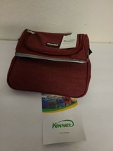 NEW WITH TAGS Cooler Insulated Lunch Box Bag Red 9x7x8  - $22.43